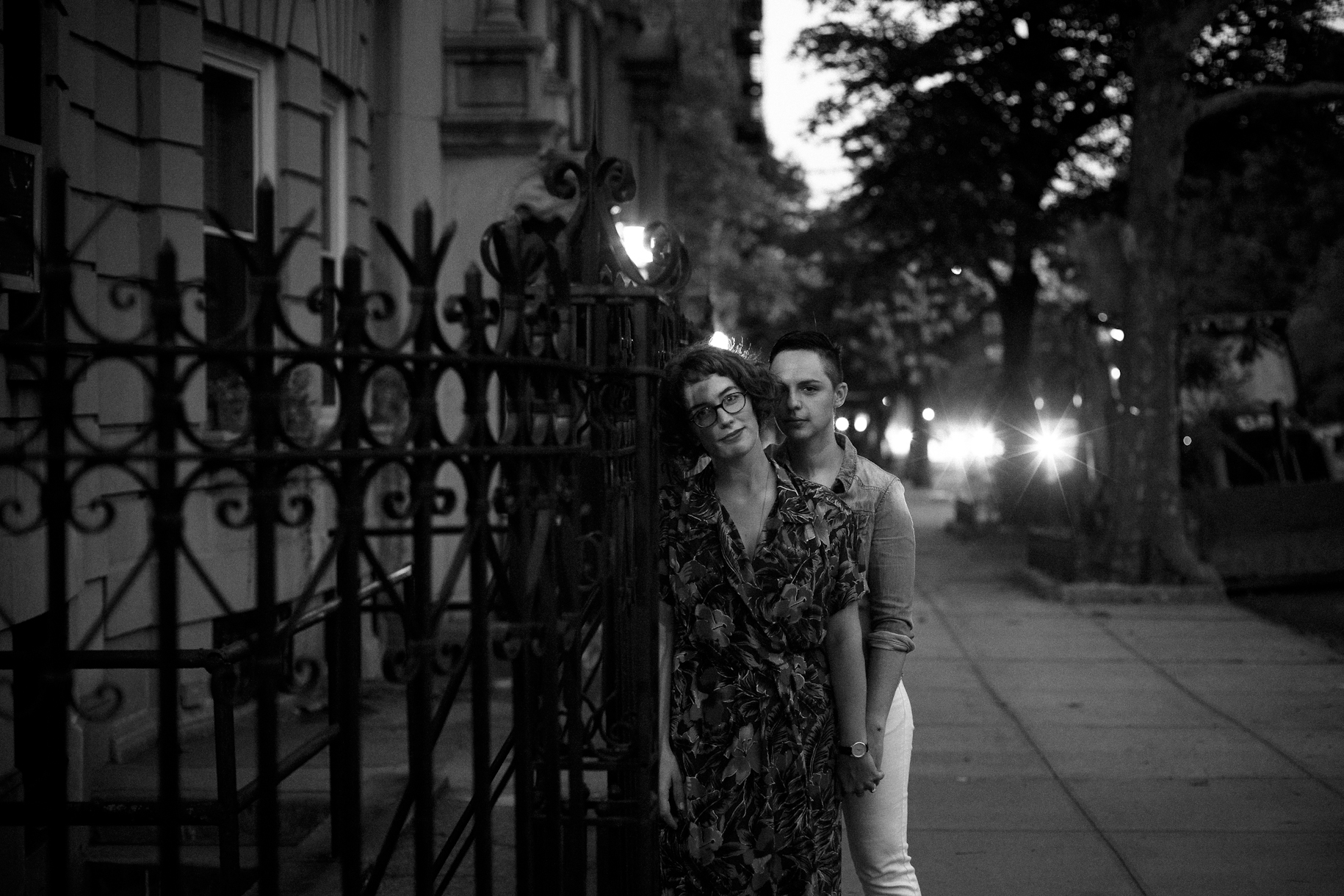 Brooklyn Lesbian Gay Engagement Photographer