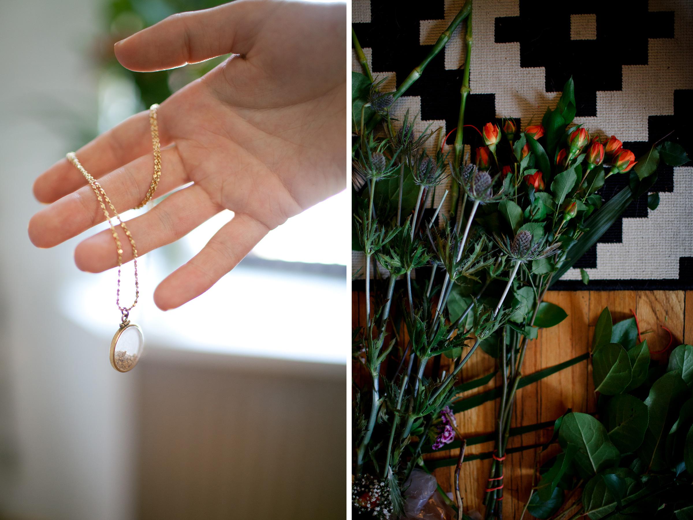 something old wedding gold necklace