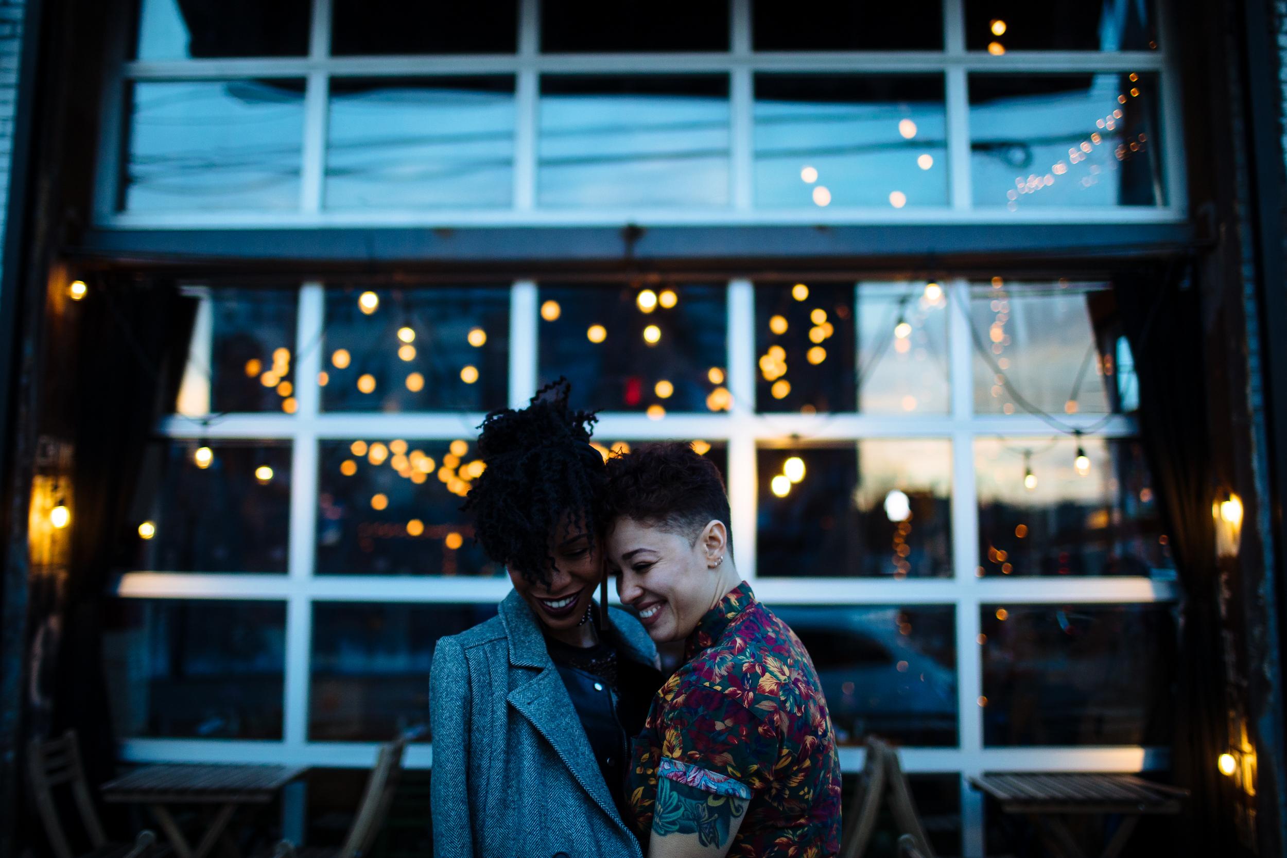 brooklyn gay engagement photographer