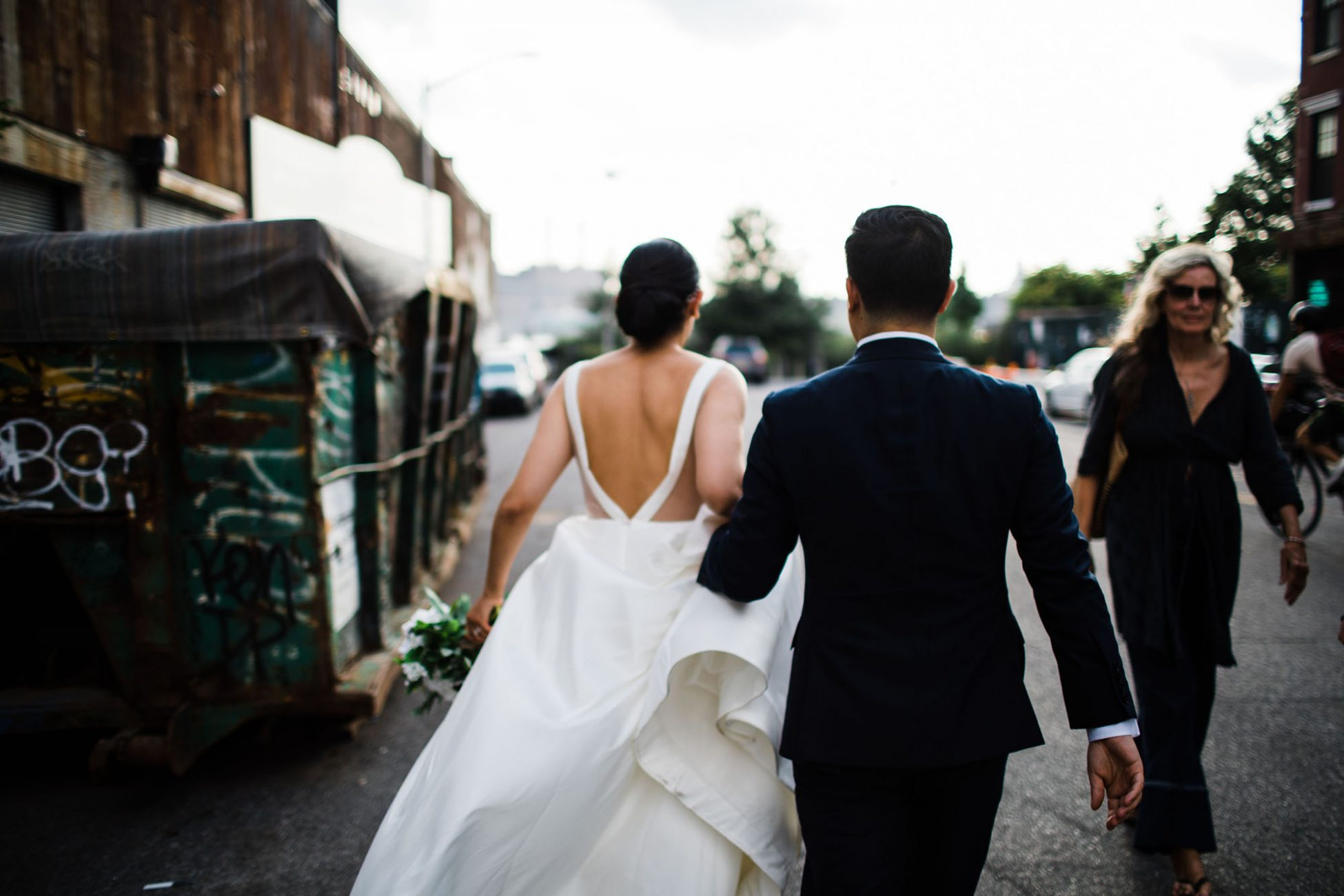 nyc city hall elopement in the summer