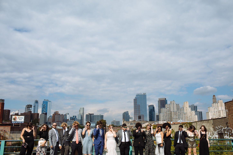 wedding party at frankie's 457 wedding