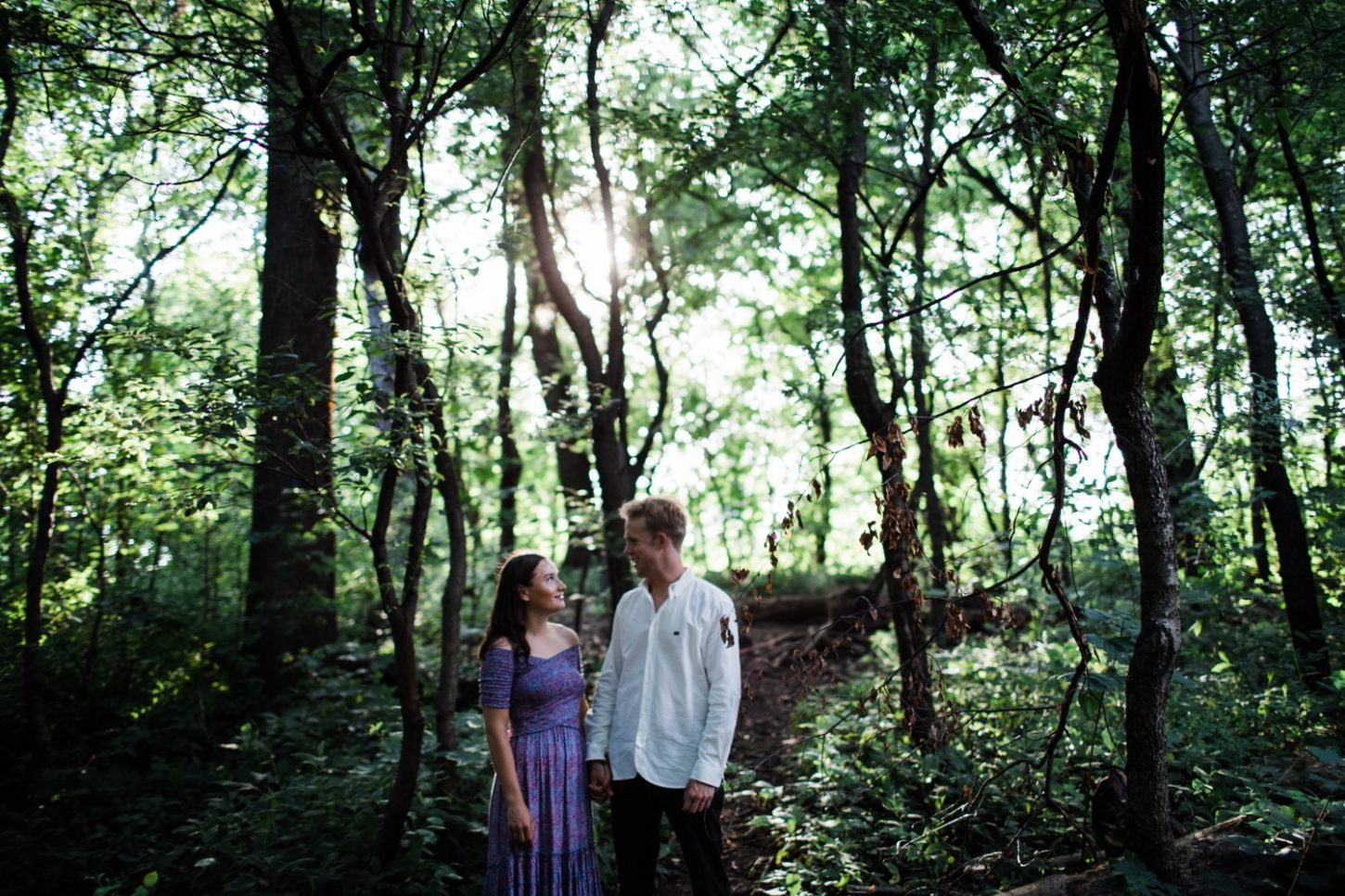engagement session in prospect park